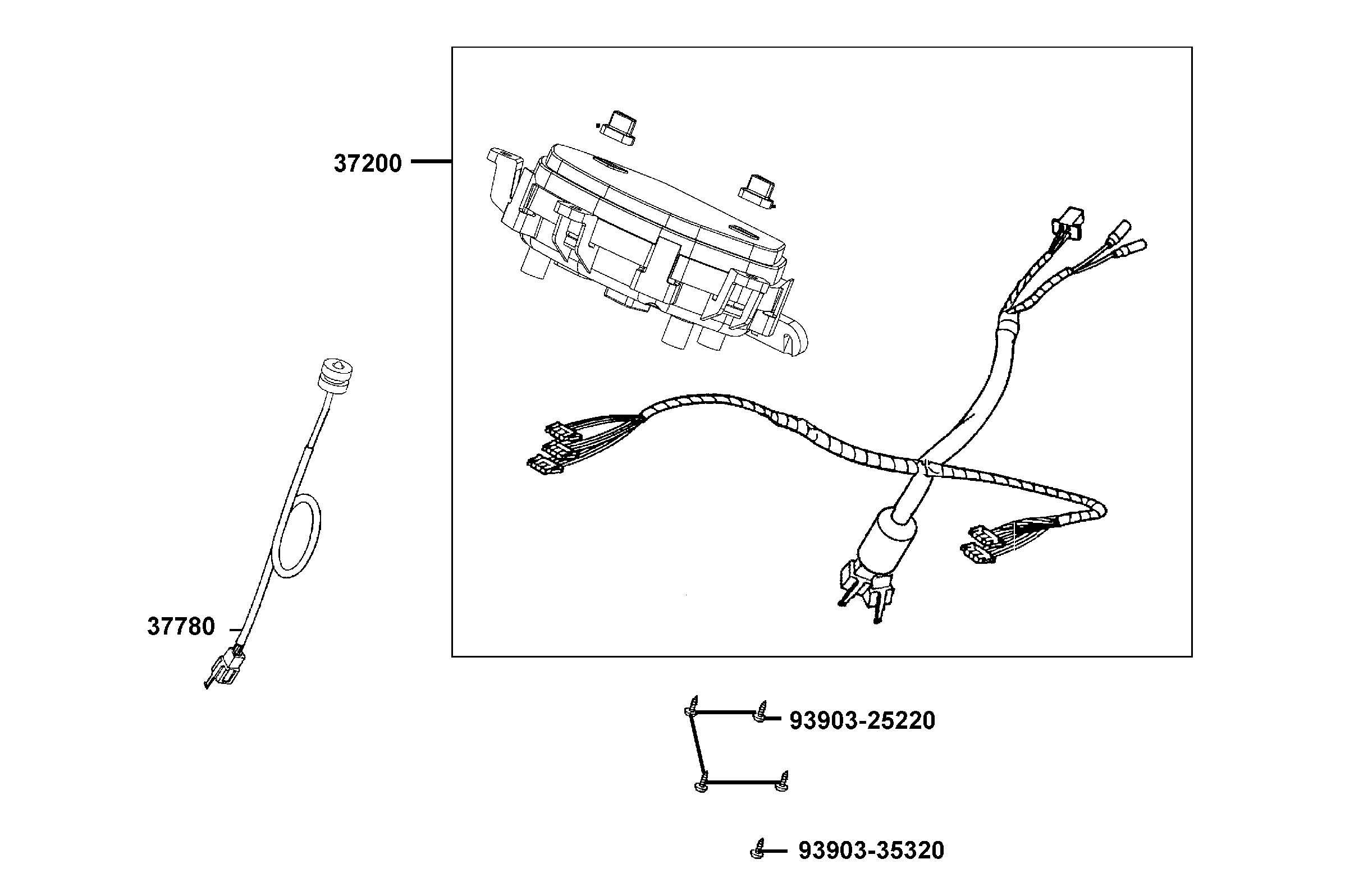 Instrument - Hastighetsvajer