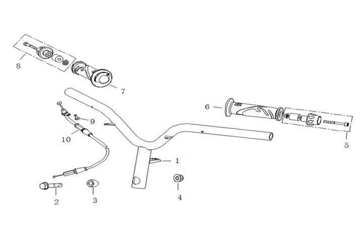 Styre - Handtag - Gasvajer
