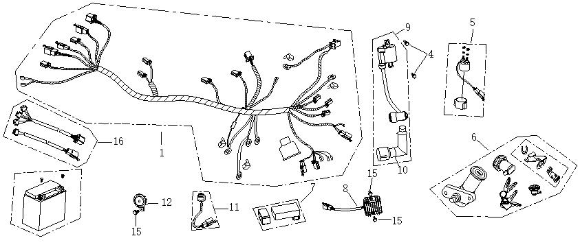 Elsystem 2 - Luftrening - Temperaturgivare