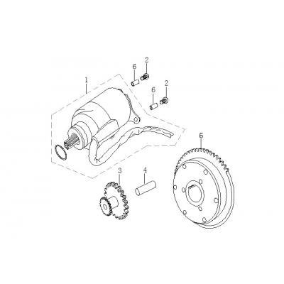 Startmotor - Bendixdrev