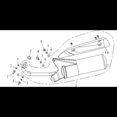 Avgassystem - Ljuddämpare