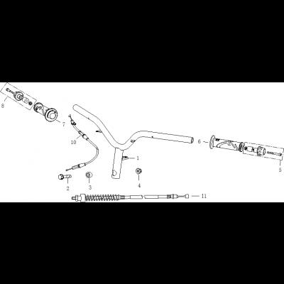 Styre - Handtag- Gasvajer
