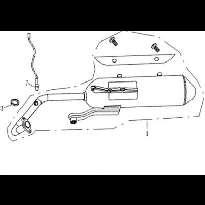 Avgassystem - Lambda sensor