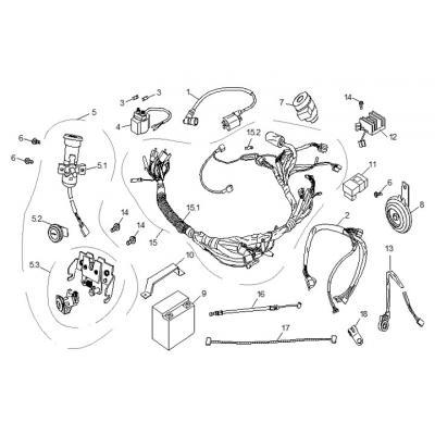 Elsystem  - LÅS - Batteri - CDI