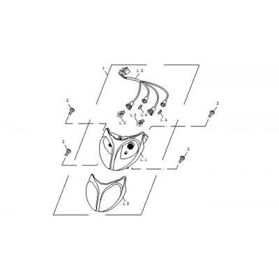 Framlampa - Strålkastare