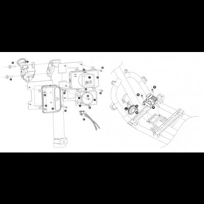 Tändningslås - ECU - Larm - Kabelstam
