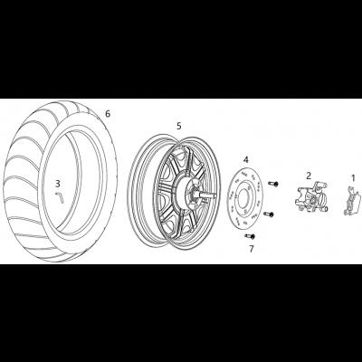Motor - Bakbroms
