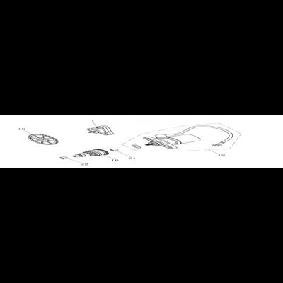 Oljepump - Startmotor - Bendixdrev
