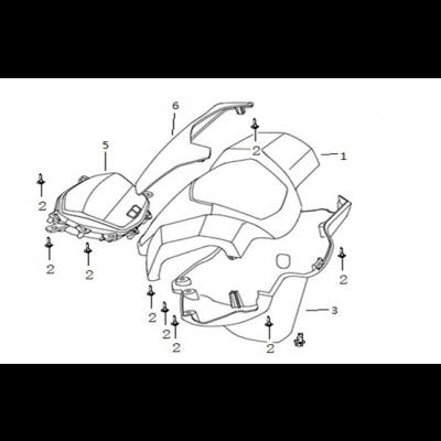 Instrumentpanel - Styrkåpor