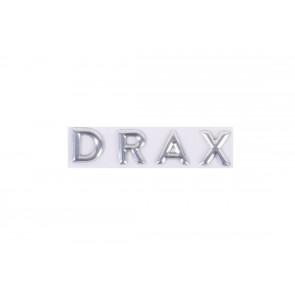 """Dekal krom """"DRAX"""""""
