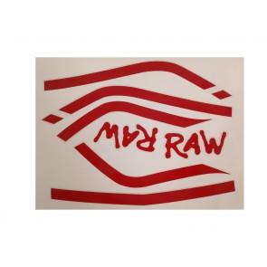 Drax Raw dekalkit för svart modell